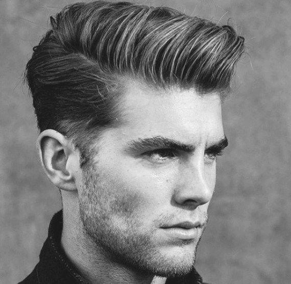 Eleganckie fryzury męskie