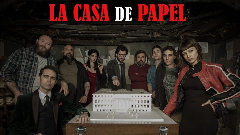 Co warto obejrzeć na netflix - La Casa de Papel