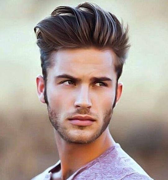 Fryzury męskie średniej długości