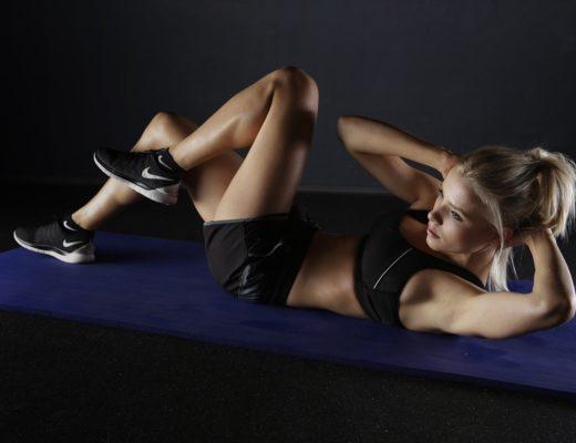 trening, ćwiczenia dla początkujących