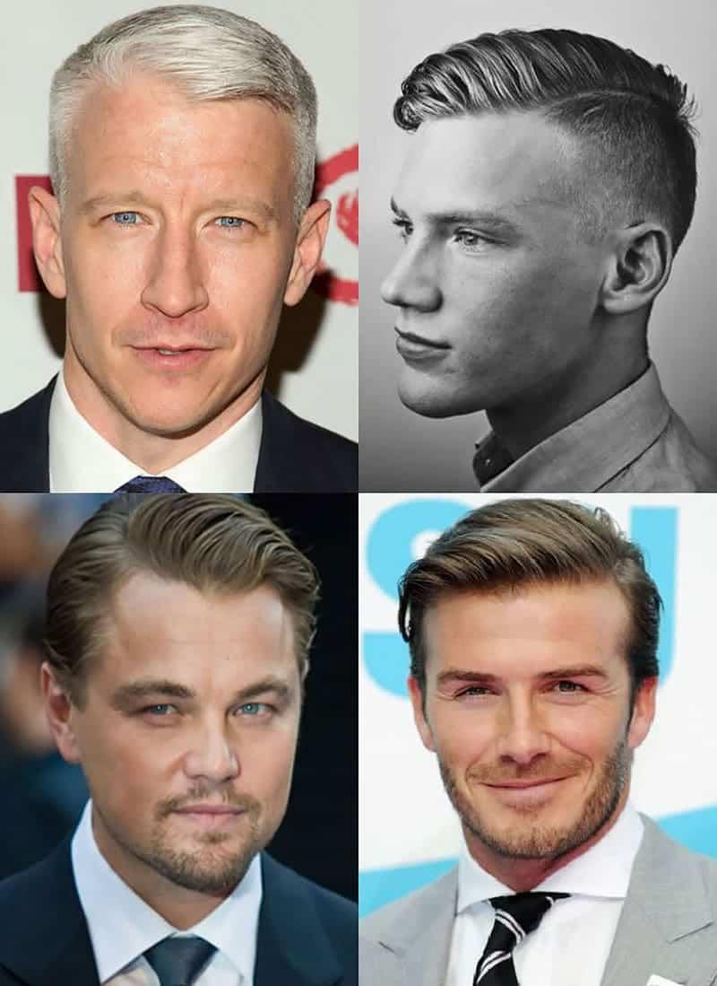 Fryzury męskie dla osób mające zakola i wysokie czoło