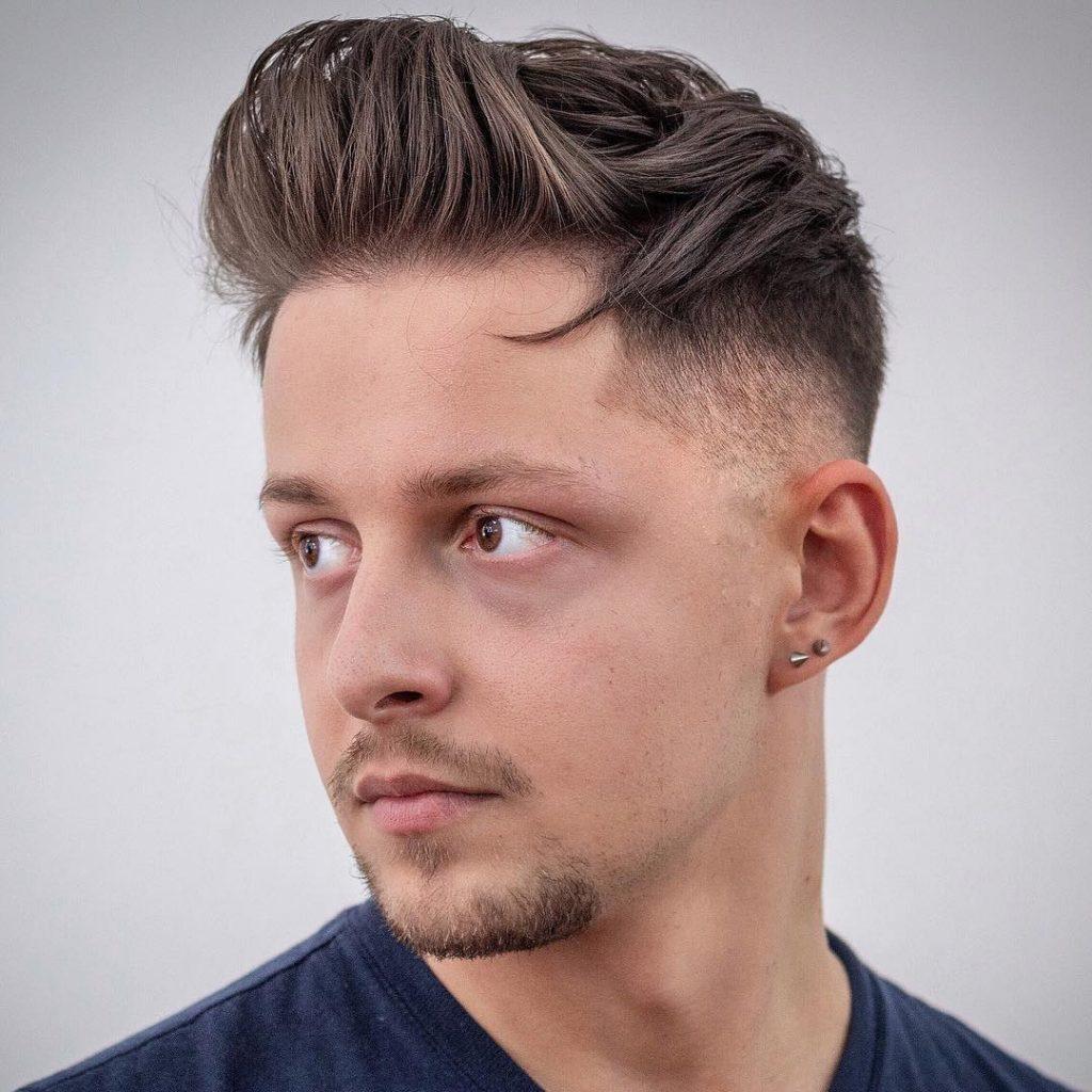Modne fryzury męskie – Katalog fryzur męskich 2019 / 2020