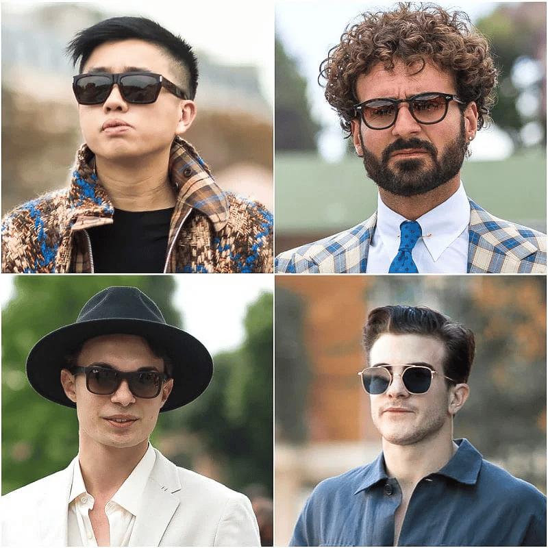 Jak dobrać okulary dla kwadratowej twarzy?