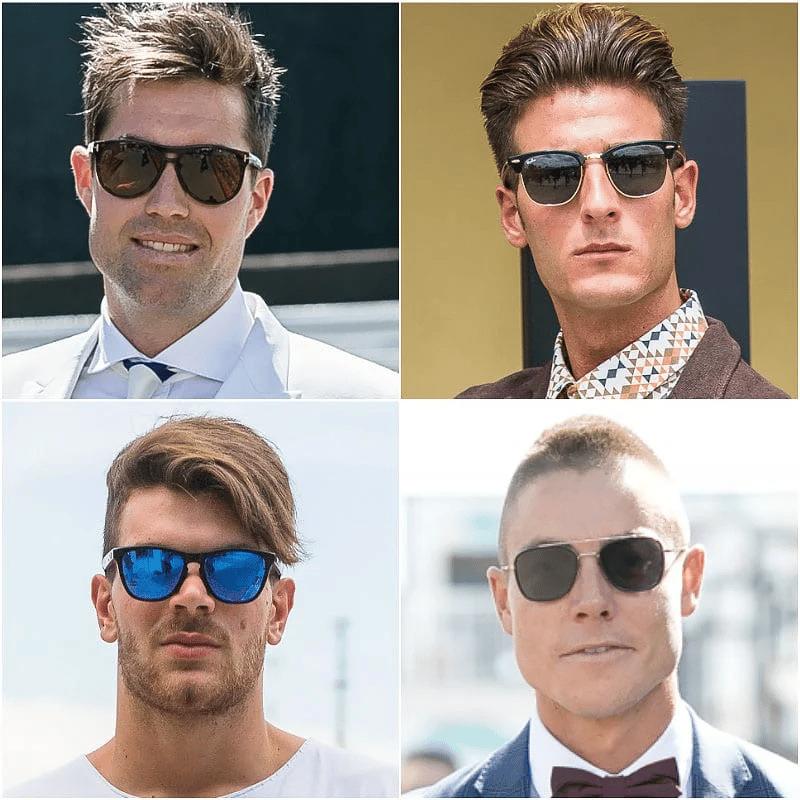 Jak dobrać okulary dla prostokątnej twarzy?