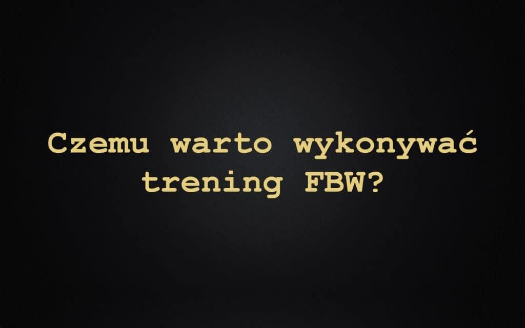 Trening FBW (full body workout) Co To i Efekty +231% + w domu. Plan treningowy dla początkujących i zaawansowanych na masę oraz rzeźbę